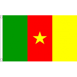 Cameroon National Flag  - Budget 5 x 3 feet Flags - United Flags And Flagstaffs