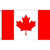 Canada National Flag - Budget 5 x 3 feet Flags - United Flags And Flagstaffs