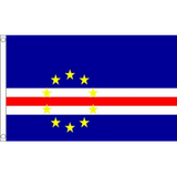 Cape Verde National Flag - Budget 5 x 3 feet Flags - United Flags And Flagstaffs