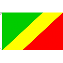 Congo National Flag - Budget 5 x 3 feet