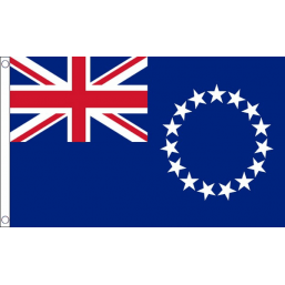 Cook Islands National Flag - Budget 5 x 3 feet Flags - United Flags And Flagstaffs
