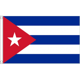Cuba National Flag - Budget 5 x 3 feet Flags - United Flags And Flagstaffs