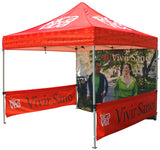 4000x4000mm Printed Gazebo Banners - United Flags And Flagstaffs