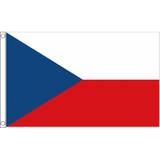 Czech Republic National Flag - Budget 5 x 3 feet Flags - United Flags And Flagstaffs