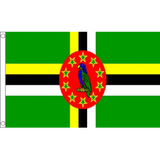 Dominica National Flag - Budget 5 x 3 feet
