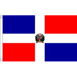 Dominican Republic National Flag - Budget 5 x 3 feet Flags - United Flags And Flagstaffs