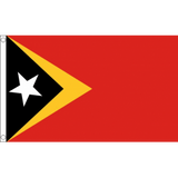 East Timor National Flag - Budget 5 x 3 feet Flags - United Flags And Flagstaffs