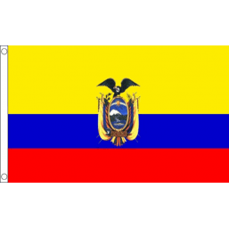 Ecuador (State) National Flag - Budget 5 x 3 feet Flags - United Flags And Flagstaffs