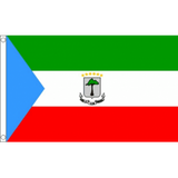 Equatorial Guinea National Flag - Budget 5 x 3 feet Flags - United Flags And Flagstaffs