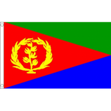 Eritrea National Flag - Budget 5 x 3 feet Flags - United Flags And Flagstaffs