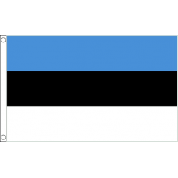 Estonia National Flag - Budget 5 x 3 feet Flags - United Flags And Flagstaffs