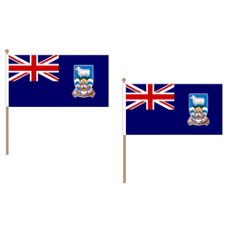 Falkland Islands Fabric National Hand Waving Flag Flags - United Flags And Flagstaffs