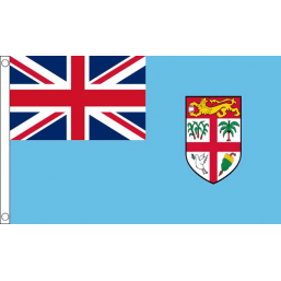 Fiji National Flag - Budget 5 x 3 feet Flags - United Flags And Flagstaffs