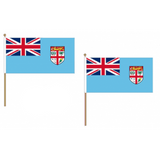 Fiji Fabric National Hand Waving Flag