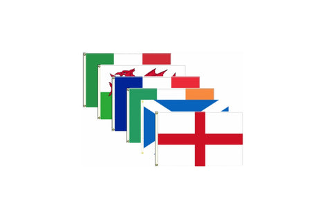 Six Nations Flag Pack Flags - United Flags And Flagstaffs