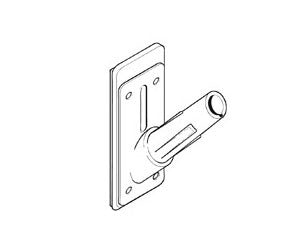 Mini Point Of Sale Flagpole Mounting Bracket