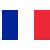 Six Nations France Flag - 5 x 3 feet Flags - United Flags And Flagstaffs