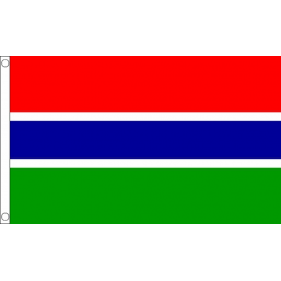 Gambia National Flag - Budget 5 x 3 feet