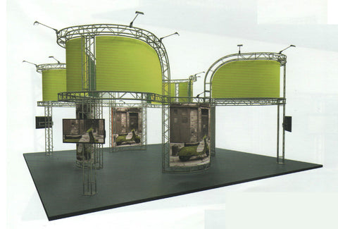 Modular Exhibition Stand Price : Gantry exhibition stands prices on application and free d