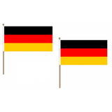 Germany Fabric National Hand Waving Flag