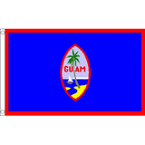 Guam National Flag - Budget 5 x 3 feet