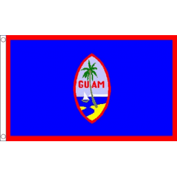 Guam National Flag - Budget 5 x 3 feet Flags - United Flags And Flagstaffs