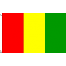 Guinea National Flag - Budget 5 x 3 feet Flags - United Flags And Flagstaffs