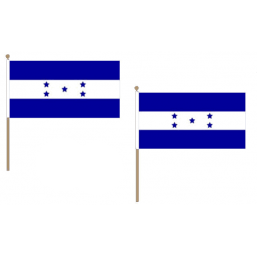 Honduras Fabric National Hand Waving Flag
