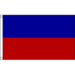 Haiti (Civil) National Flag - Budget 5 x 3 feet