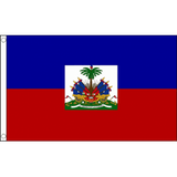 Haiti (State) National Flag - Budget 5 x 3 feet Flags - United Flags And Flagstaffs