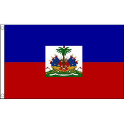 Haiti (State) National Flag - Budget 5 x 3 feet