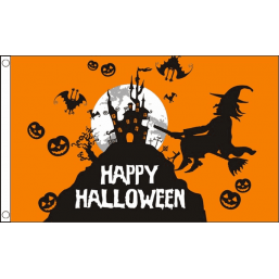 Halloween Flags - Orange Flags - United Flags And Flagstaffs