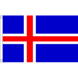 Iceland National Flag - Budget 5 x 3 feet Flags - United Flags And Flagstaffs
