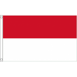 Indonesia National Flag - Budget 5 x 3 feet