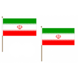 Iran Fabric National Hand Waving Flag