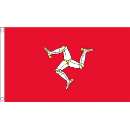 Isle of Man - British Counties & Regional Flags
