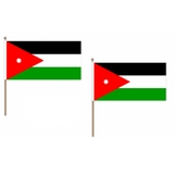 Jordan Fabric National Hand Waving Flag