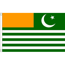Azad Kashmir National Flag - Budget 5 x 3 feet Flags - United Flags And Flagstaffs
