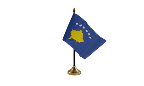 Kosovo Table Flag Flags - United Flags And Flagstaffs