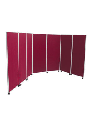 Wheelable Large Folding Panel Exhibition Kit Banners - United Flags And Flagstaffs