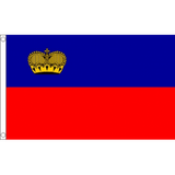 Liechtenstein National Flag - Budget 5 x 3 feet Flags - United Flags And Flagstaffs