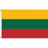 Lithuania National Flag - Budget 5 x 3 feet Flags - United Flags And Flagstaffs