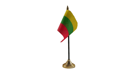 Lithuania Table Flag Flags - United Flags And Flagstaffs