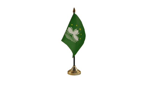 Macau Table Flag