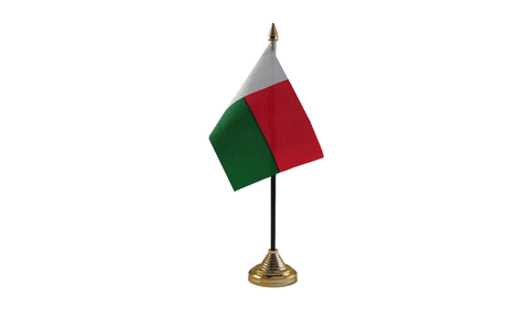 Madagascar Table Flag
