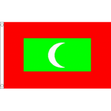Maldives National Flag - Budget 5 x 3 feet