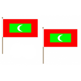Maldives Fabric National Hand Waving Flag