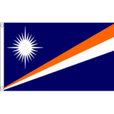 Marshall Islands National Flag - Budget 5 x 3 feet