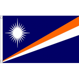 Marshall Islands National Flag - Budget 5 x 3 feet Flags - United Flags And Flagstaffs