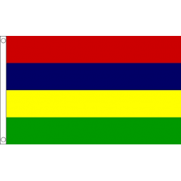 Mauritius National Flag - Budget 5 x 3 feet Flags - United Flags And Flagstaffs
